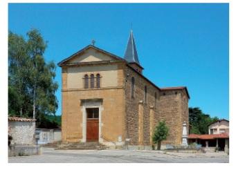 eglise actuelle Anjou