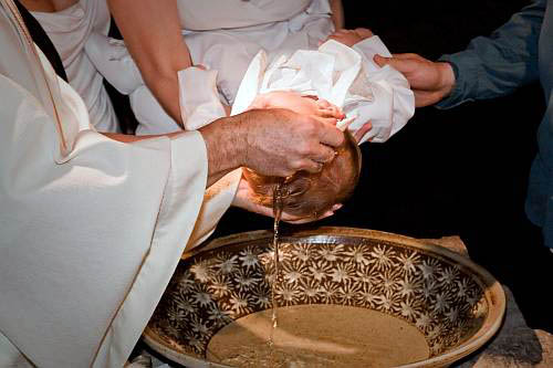 Baptême d'Alexis Delisle